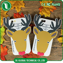 Japan version christmas decorating cover phone mobile case silicone full cover case of cartoon elk shape for iphone 6s