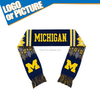 NEW Michigan State University Campus fans Football/rugby team Cheerleader knitted scarf