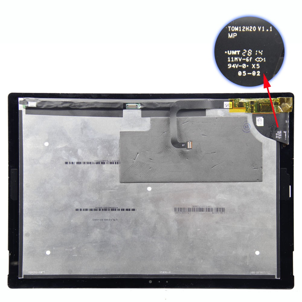 2016 new original repair lcd screen assembly for microsoft surface pro 3 lcd touch screen digitizer replacement assembly