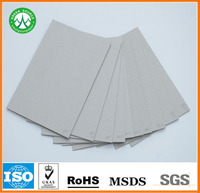 grey board 2.2mm 2.5mm hard board for making furniture liner or present boxes