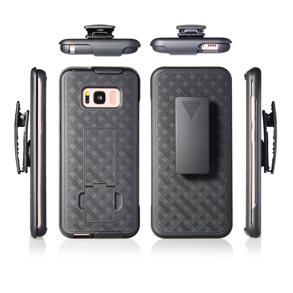 PC Belt Clip Case for Samsung Galaxy S8 Case Covers