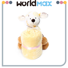 Birthday Gift Plush Bear Long Ears Animal Toy Baby Blanket