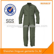 china men garment factory oem coverall flying for pilot
