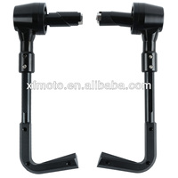 "Black CNC Universal 7/8"" Proguard System Pro Brake Clutch Levers Protect Guard"