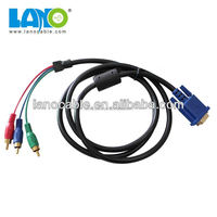 Custom wire harness good quality 3 rca to vga cable