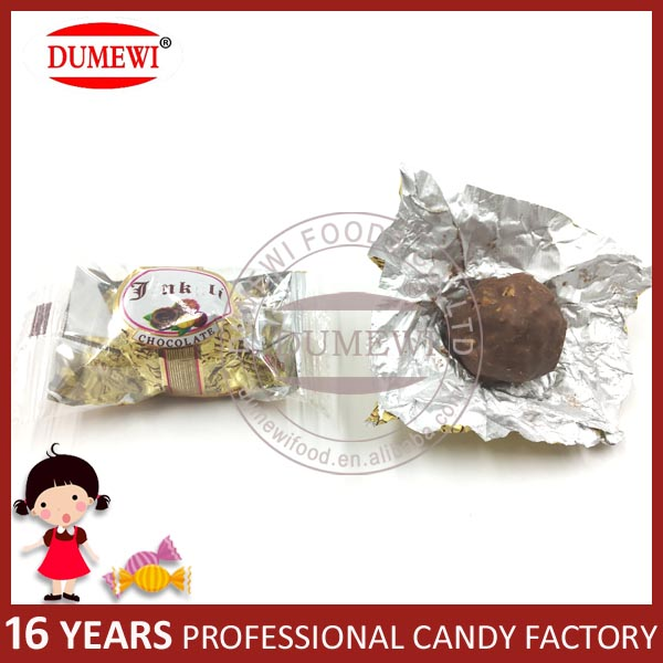 Gift Box Packing Peanut Compound Chocolate Wafer Ball