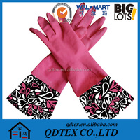 Rubber Washing Latex Gloves Household Rubber Gloves