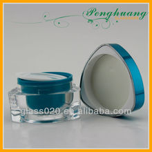 special shape cosmetic jars cream