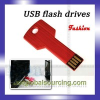 full capacity key shape portable 1gb-64gb full capacity usb flash pen drive usb flash drive