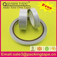 Plastic removable pe foam double side tape