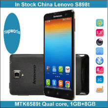 5.3 inch IPS mobile phone with 1280x720 MTK6592 Octa Core Android 4.2 Lenovo S898T smart phone