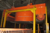 Dry suspension conveyor belts electric magnets-manufacturer