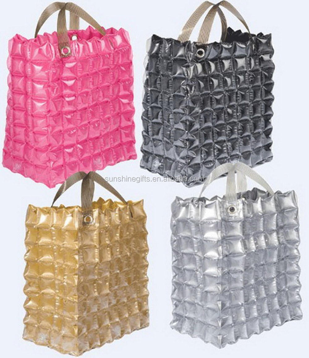 Customized Inflatable Bubble BackPack PVC Bubble Beach Bags Tote Bag
