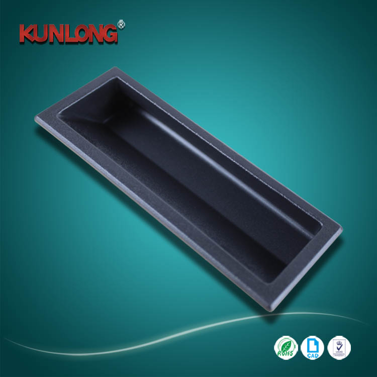 SK4-017 Industrial cabinet plastic flush pull handle