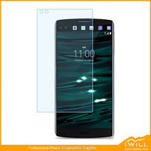 Ultra Slim Three Layers Anti Glare Film Clear Screen Protector For LG V10 PET Screen Protective Guard Mirror Glitter