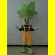 Celery cabbage/Chinese cabbage vegetable mascot costume