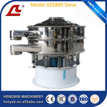 CE mark China vibration cleaning sieve with single or double deck