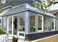 Laminated Glass Thermal Broken Aluminum Sunroom