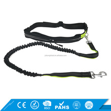 Best Selling Products Dual-Handle Hiking Reflective Bungee Retractable Dog Leash