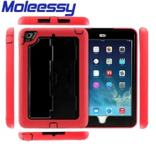 Waterproof rubberized hard cover case for ipad mini 2
