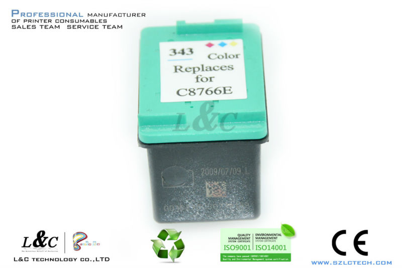 Ink Cartridge for HP C8766EE 343 Printer Supplies