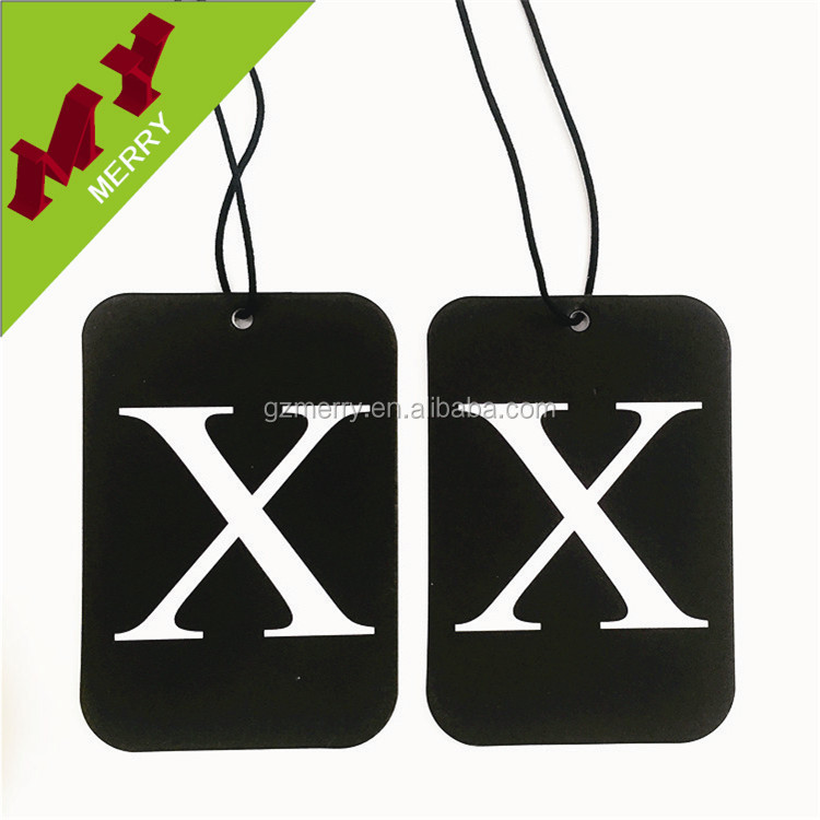 Promotional gifts hanging auto paper air freshener car / custom car air freshner wholesale