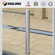 most popular parking stainless steel removable bollard 300 series price from china