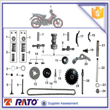 Factory direct prices Italika AT110 Motorcycle Spare Parts in stock