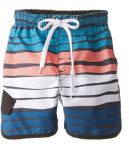 Boys kids children toddler little boy big boy 3-piece Swim Set UPF 50+ Sun Protection swim trunk bathing suit swimsuit swimwear