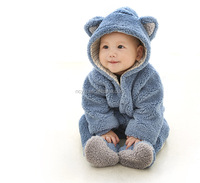 Wholesale design of high quality anti allergic animals 0-24 months of newborn baby clothing