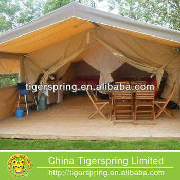 Spacious comfortable semi permanent tents for sale buy for Permanent camping tents