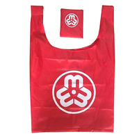 190T Polyester Foldable Bag with small pocket