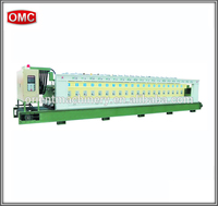 OMC-LXM automatic marble pebbles stone polishing machines