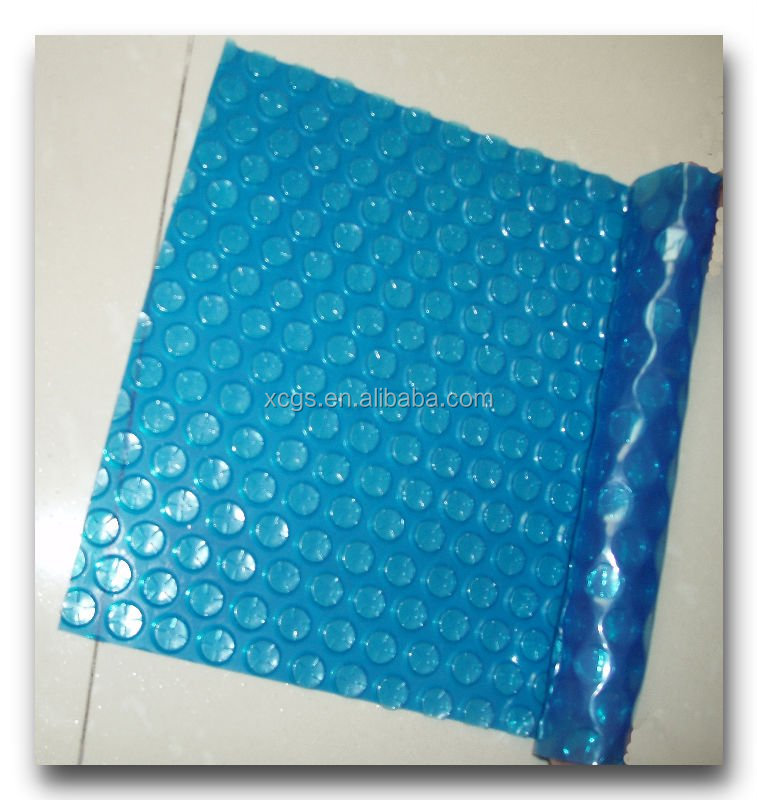 hard rigid plastic thermal bubble swimming pool cover