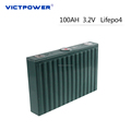 Deep Cycle Battery LifeO4 100AH 3.2V Recharge Battery for Electric Vehicle/ Energy Storage