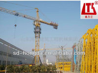 China High quality QTZ80A Tower crane with CCC CE ISO9001 Certifications