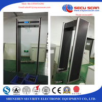 High sensitivity 6 zones military metal detectors with LCD display, body scanner