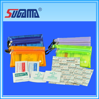 waterproof emergency medical first aid kits with basic equipment