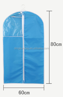 wholesale oxford garment bags suit cover with PVC windows