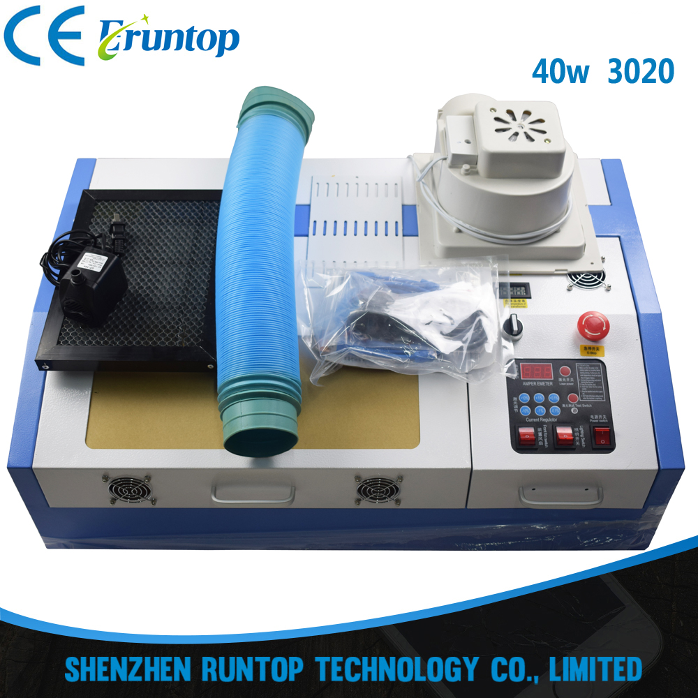 High Quality 110/220V 40W 200*300mm Mini CO2 <strong>Laser</strong> Engraver Engraving Cutting Machine 3020 <strong>Laser</strong> with USB Sport