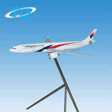 120cm big size scale airbus A330-300 Malaysia airplane model