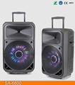USB FM SA-6800 Mba battery powered trolley speaker use for outdoor actitives