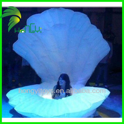 2016 Hot Sale Inflatable Shell For Events And Promotion/Unique Design Inflatable Shell
