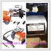 small car portable air compressor for Auto Car SUV Tire 12V volt + 3 adapters NEW