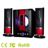 airwave 2.1 hifi multimedia speaker with display with BLUETOOTH/USB/SD/FM with FCC/ CE/RoHS Certificate