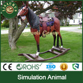 Lisaurus-KL simulation animal fiberglass vivid rocking horse