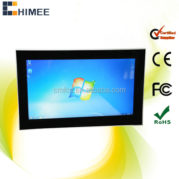 26inch cheap china touch monitor wall mount computer case (HQ26EW-C1-T,from 15.6inch to 65inch)