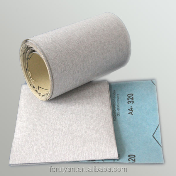 white sanding paper for grinding gypsum wall