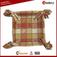 OEM made in China folding cloth soft bread basket