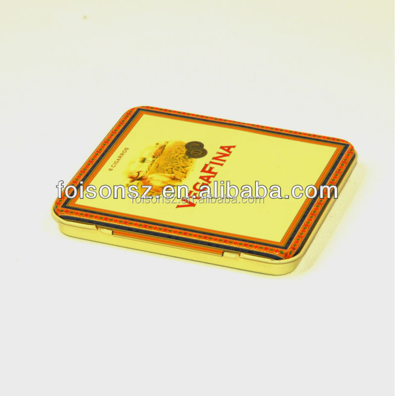 special design metal cigarette box